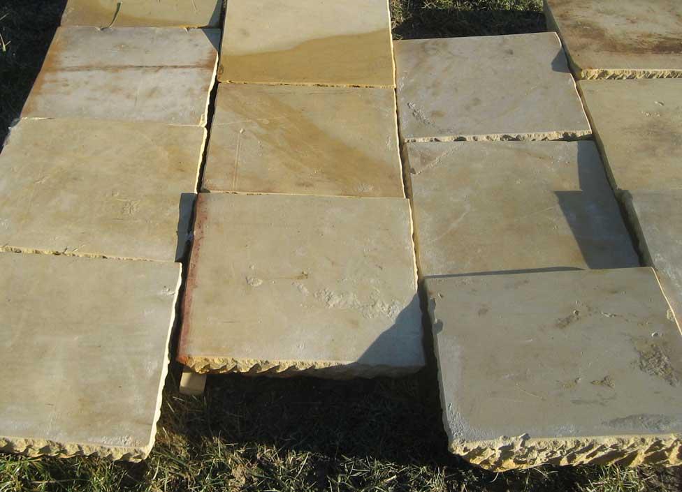Sandsteinplatten 50x50cm