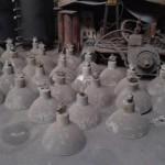 100 stck loft lampen industrielampen farbriklampen lampen alt old antique. Black Bedroom Furniture Sets. Home Design Ideas